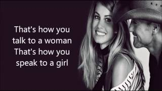 Speak To A Girl - Faith Hill & Tim McGraw