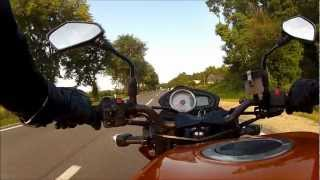 preview picture of video 'Z750 on Riederberg'