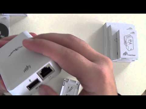 Ubiquiti mFi mPort, Temperature, Door & Current Sensors unboxing HD | mihalos.gr
