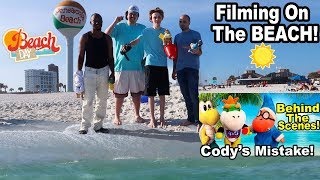 Cody's Beach Day Behind the Scenes!