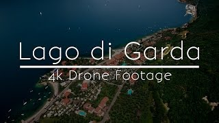 Lake Garda, Italy - 4k Drone Footage