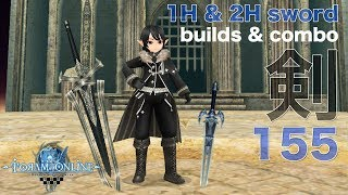 Toram Online - Katana Build Cap 155