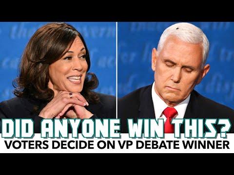 Voters Pick The VP Debate Winner