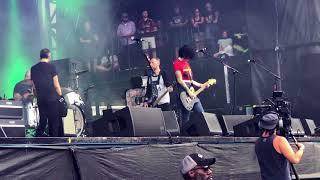 The Distillers - The Hunger - Shaky Knees - Atlanta 5/5/18