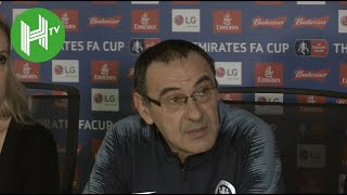 Chelsea 0-2 Man United   Sarri: I'm Worried About Results - Not Our Fans!