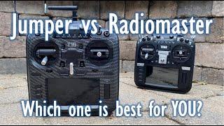 Jumper T18 Pro vs Radiomaster TX16S - Battle of the Remotes!