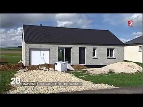 """Reportage JT de France2 du 16/09/15 : Les maisons """"pas chères"""" en blocs béton"""