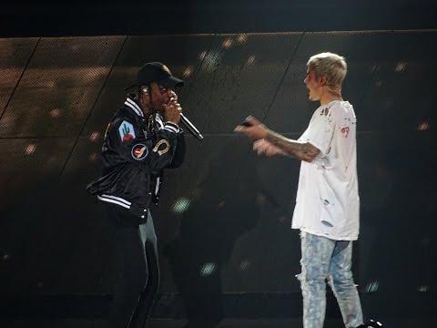 Justin Bieber feat. Travis Scott - No Sense LIVE AT MADISON SQUARE GARDEN (July, 19)