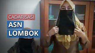 Bupati Lombok Sebut ASN Wajib Menggunakan Cadar untuk Pengganti Masker