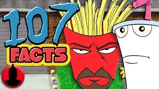 107 Facts About Aqua Teen Hunger Force! - ToonedUp @CartoonHangover