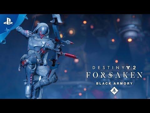 Destiny 2: Forsaken Annual Pass – Black Armory Izanami Forge Trailer   PS4