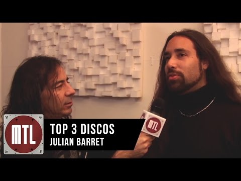 Julián Barrett video TOP 3 Discos - MTL 2015