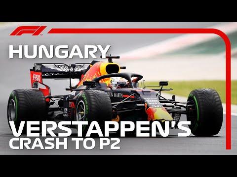 F1 2020 第3戦ハンガリーGP 2位フィニッシュしたマックス・フェルスタッペンのハイライト動画