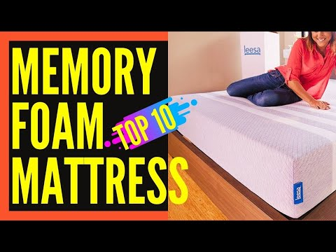 Top10 Best Memory Foam Mattresses || Best Memory Foam Mattress 2017 Review