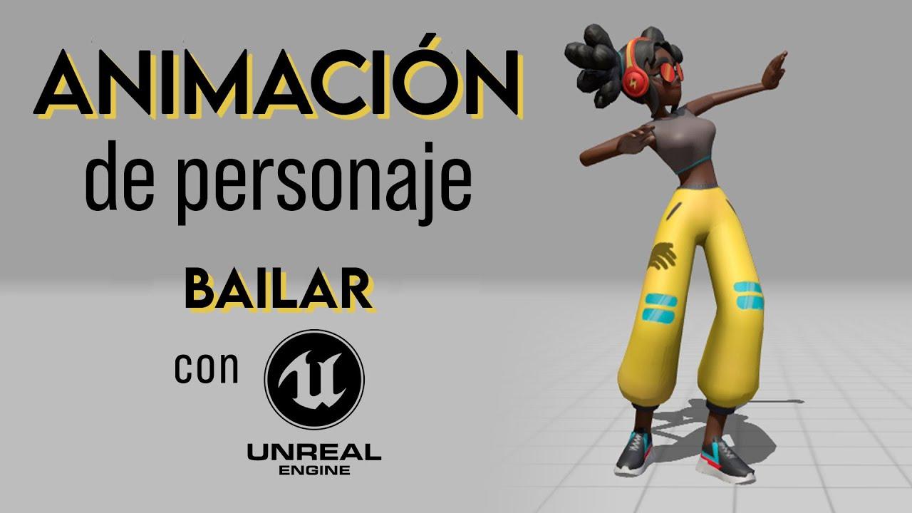 Animación de Personaje para Videojuego 🎮 Bailar | Tutorial Unreal Engine 4