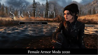 Skyrim SE Best Female Armors 2020