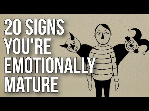 20 Signs You're Emotionally Mature