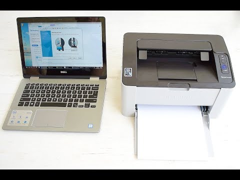Unboxing and Wireless setup Samsung Xpress M2020W, M2022W, M2024W, M2026W, M2028W Laser Printer