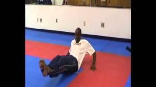 Fitness sit-ups challenge winner (Peter Belmar)