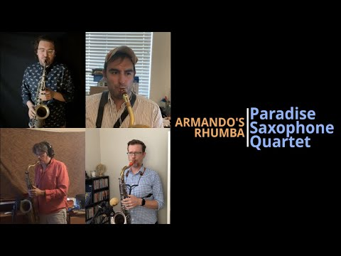 """I had a fun time as a """"Guest Clapper"""" for the Paradise Saxophone Quartet in this video :D"""