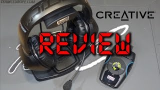 Creative Recon3D Omega Wireless SBX-Headset   Review   FULL HD   Deutsch