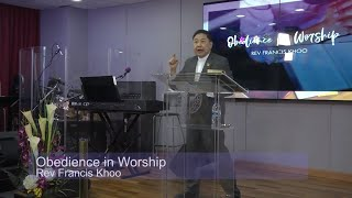 Obedience in Worship