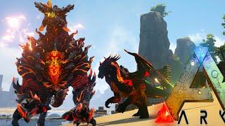 Ark Survival Evolved - ELDER DRAGON GODLING, FIRE DRAKE TAMING - Modded Survival Ep62 (Ark Gameplay)