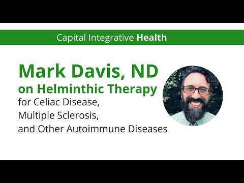 Helminthic therapy for crohns disease