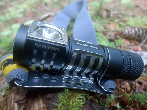 Headlamp Review: Fenix HL50 LED shot on location in the Monongahela National Forest.