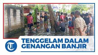 Bocah 8 Tahun Hilang dalam Genangan Air saat Banjir di Kota Samarinda