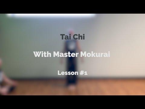 Tai Chi Lesson #1 - YouTube