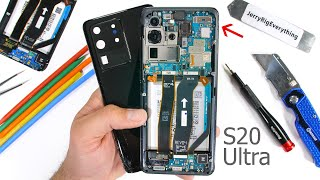 Samsung Galaxy S20 Ultra 5G Teardown! - Is the 5G even real?