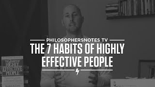 PNTV: The 7 Habits Of Highly Effective People By Stephen Covey