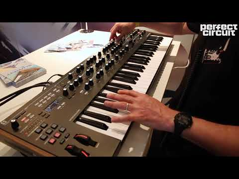 Novation Summit 16 Voice Polyphonic Keyboard Sounds SuperBooth 2019