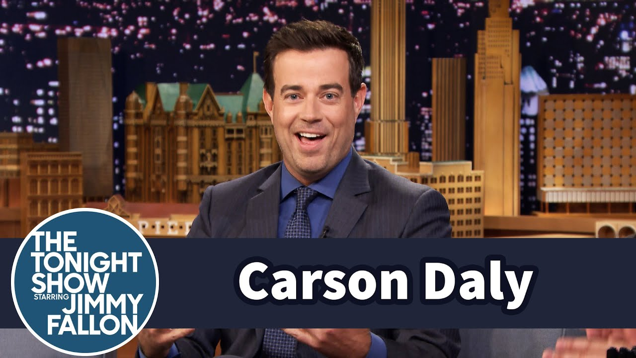 Carson Daly Says The Voice Gets You Pregnant thumbnail
