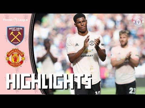 Highlights | West Ham United v Manchester United | Premier League