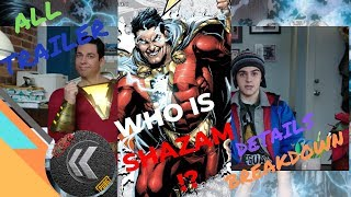 Who is SHAZAM! | All Trailer Details and Breakdown | New 52 Origin | Nerdist ks