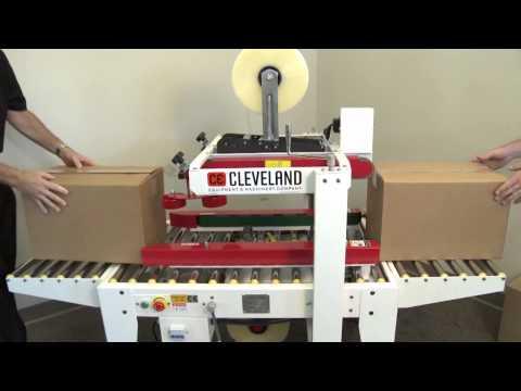 CE 557TS Uniform Semi-Automatic Carton Sealer Heavy Duty White Series - CE-557TS Carton Sealer - sold by Cleveland Equipment