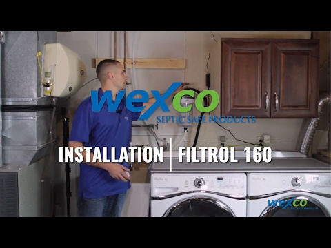Filtrol 160 Septic Protector Washing Machine Lint Filter  Video