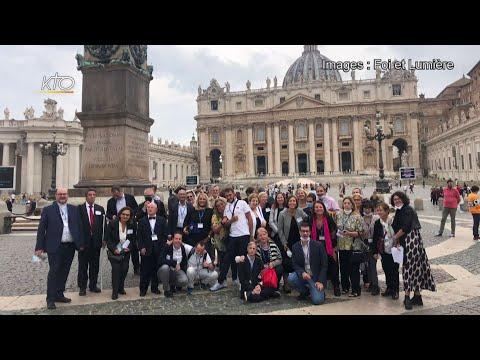 L'encouragement du Pape aux communauté Foi et Lumière