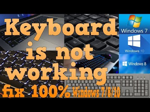 Download Keyboard Not Working (windows 7/8/10) 100% fix Mp4 HD Video and MP3