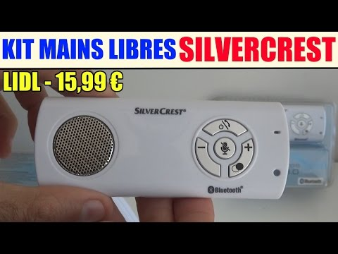 kit mains libres bluetooth silvercrest lidl SFA 30 c1 Hands-Free Kit