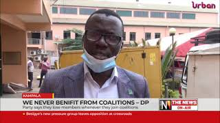 We never benefit from coalitions, DP