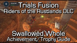 Trials Fusion - Swallowed Whole Achievement/Trophy Guide - Riders of the Rustlands DLC