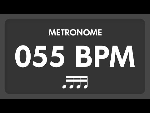 55 BPM - Metronome - 16th Notes