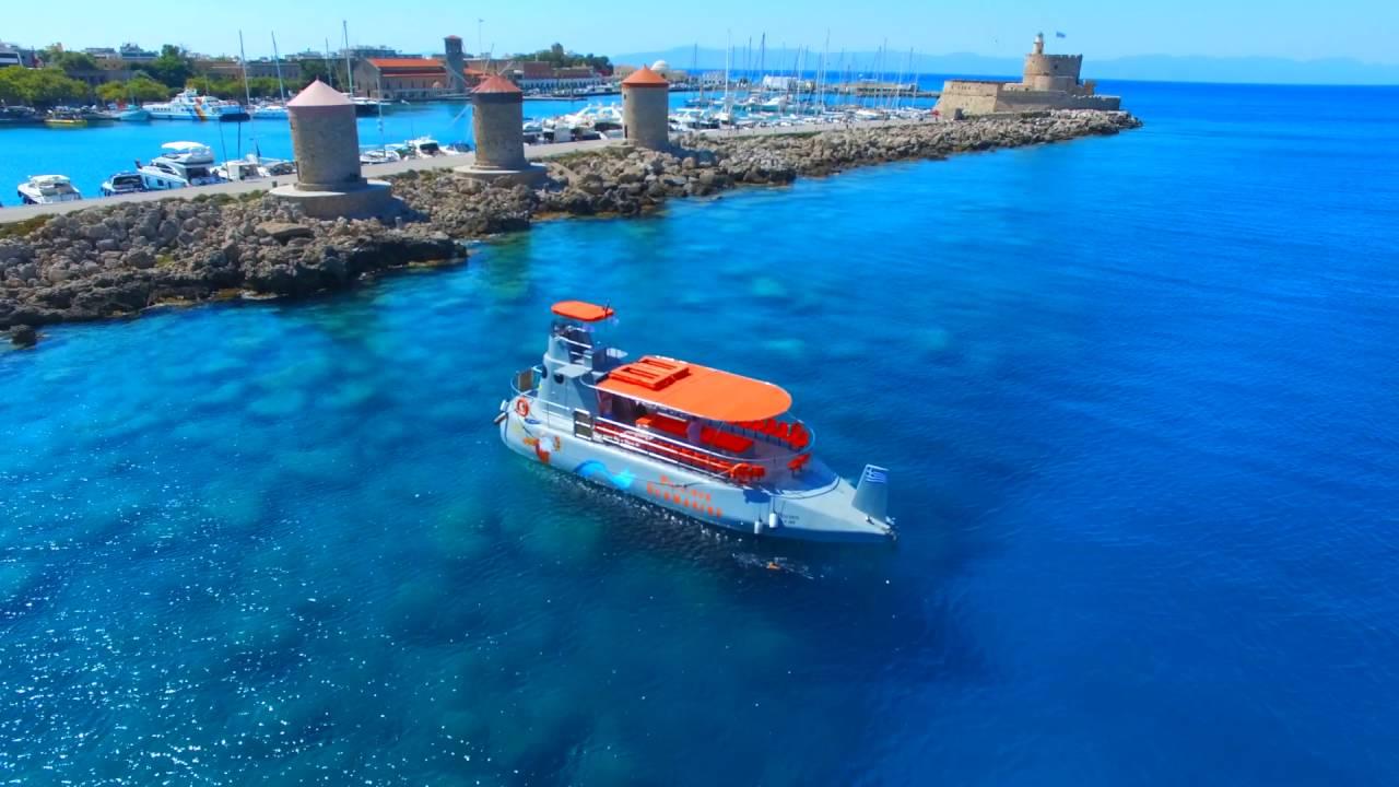 Poseidon Submarine Rhodes