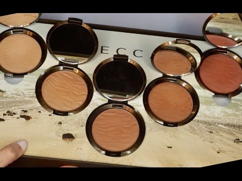 BECCA Cosmetics Sunlit Bronzer Collection! Swatches & Review | Ashley Landry
