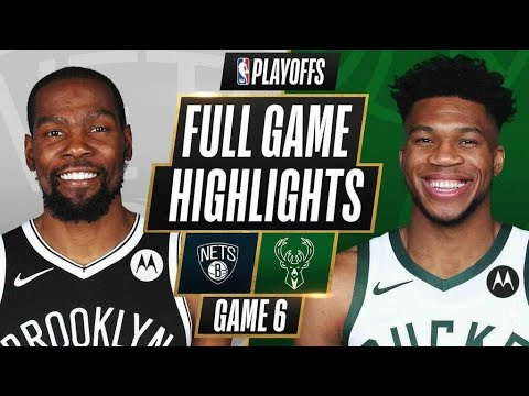 Milwaukee Bucks vs Brooklyn Nets</a> 2021-06-18