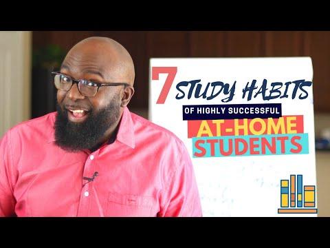 Study Skills - 7 Study Habits of Successful HomeSchooled and ...