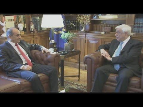 Συνάντηση του Πρ. Παυλόπουλου με τον πρόεδρο της κυπριακής βουλής